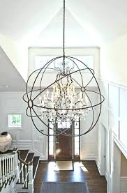 chandeliers for high ceilings foyer ng chandeliers for high ceilings medium size of pendant on contemporary chandeliers for high ceilings