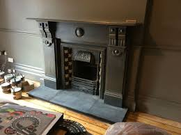 large original victorian slate fireplace surround with antique cast iron insert beautifully red victorianfireplace co