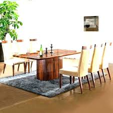 size of area rug under dining table rug under dining room table area rug under dining