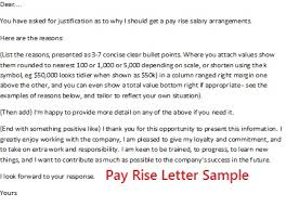 pay raise letter samples pay rise letter template londa britishcollege co