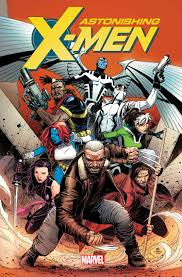marvel comics astonishing x men full mutant team revealed for well it s a good one archangel bishop fantomex i love fantomex y all gambit mystique old man logan psylocke and rogue check out the cover art by