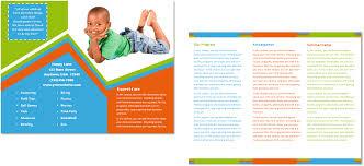 Daycare Brochures - Kleo.beachfix.co
