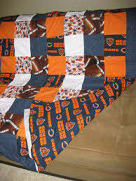 Chicago Bears Baby Quilt | My step-daughter is due with her … | Flickr &  Adamdwight.com