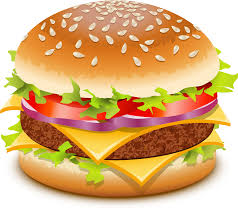 Image result for burger clipart