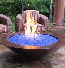 outdoor fire pit glass chips new backyard fire pit ideas and designs for your yard deck