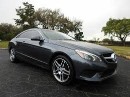 The first is a system called aircap which is essentially a spoiler on top of the windshield and a deflector behind the rear seats. Used 2014 Mercedes Benz E Class E 350 Coupe For Sale Right Now Cargurus