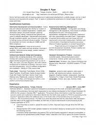 Systems Analyst Resume Samples Sample Ba Resume Resume Cv Cover .