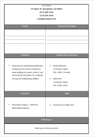 free fill in the blank resume templates 45 blank resume templates free samples examples format download