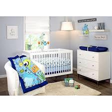 disney monsters on the go 13 pc set crib bedding decor blue green