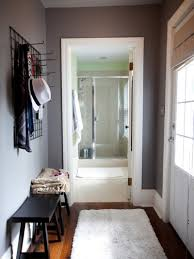 Apartment:Entryway Foyer As Small Apartment Entryway Ideas With Nice Cozy  White Tufted Day Bed