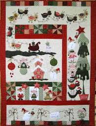 Christmas Quilt Patterns Stunning MISTLETOE CHRISTMAS QUILT Pattern By Fig N Berry