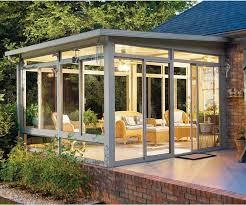 enclosed aluminium structure glass