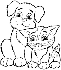 winning free colouring pages for kids printable for sweet animals dog coloring sheets and free colouring