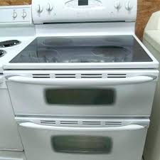 ceramic stove top glass oven frigidaire burner