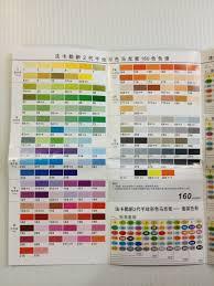 Crayola Supertips 50 Color Chart Nattosoup Studio Art And Process Blog January 2016