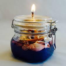 2105 blue italian oil candle