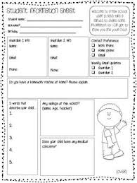 basic personal information form 27 best forms images on pinterest school school stuff and back to