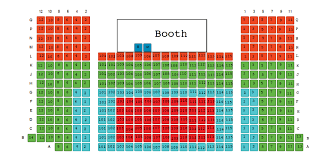 Seating Chart Synetic Theater