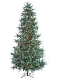 Rustic Artificial Christmas Tree  WayfairArtificial Christmas Tree Without Lights