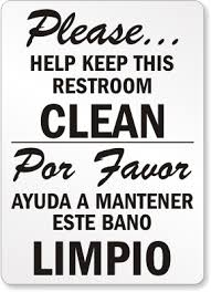 Fascinating 30 Bathroom Sign Funny Design Ideas Of Restroom Signs Printable Keep Bathroom Clean Signs