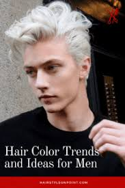 Mens Hair Dye Colour Chart Hair Color Trends And Ideas For Men For 2019