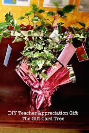gift card tree teacher appreciation gift sayplease com
