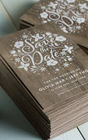 stunning wedding invites produced on real wood with white printing Real Wood Wedding Invitations stunning wedding invites produced on real wood with white printing jukeboxprint real wood wedding invitations custom