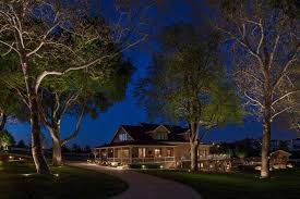 in addition to its aesthetic contribution to design landscape lighting also enhances security in both