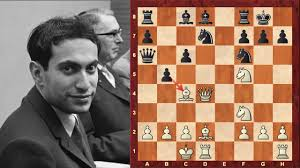 Mikhail Tals Top 10 Chess Sacrifices Of All Time Or At Least In Top 50 Of Most Lists