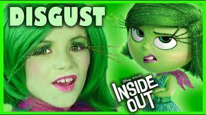 inside out disgust makeup tutorial disney pixar cosplay