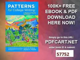 Patterns For College Writing Simple Patterns For College Writing 48th Edition Pdf Selolinkco