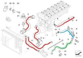 want to replace cooling system heater hoses bimmerfest bmw forums 3 from the first diagram 7 from the other total of 10 hoses