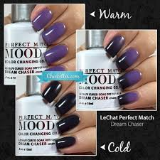 Lechat Perfect Match Mood Gel Polish Swatches Chickettes