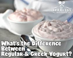 Whats The Difference Between Regular And Greek Yogurt