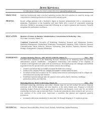 Marketing Assistant Job Description For Resume #5627
