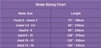 Youth Ice Skate Size Chart Best Picture Of Chart Anyimage Org