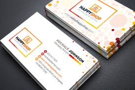 Buisness Card Online Business Card For E Commerce Or Online Shop Shopping Mall Business Card Corporate Identity Template