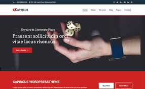 professional webtemplate capricus bootstrap professional website templates themevault