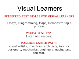 three types of learning styles ppt video online visual learners