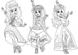Small Picture Rochelle Goyle from Monster High Coloring Page Color Luna