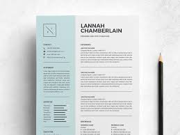 Clean Resume Template 2 Pages By Resume Templates On Dribbble