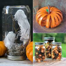Decorating Mason Jars For Halloween Mason Jar Halloween DIY Projects POPSUGAR Home 2