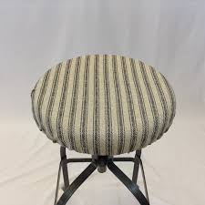 round bar stool cushions. Amazon.com: Rustic French Ticking Stripe Fabric Round Bar Stool Cover 12\ Cushions