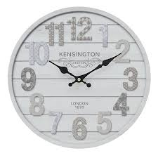 40 wall clock wooden wall clock in creme color 40 inch outdoor wall clock uttermost ronan