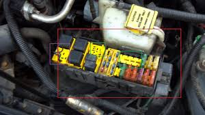 fuse box jeepforum com i ve been having a problem starting my car the past few days so a part of me wanted to check the fuse box and look what i found
