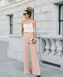 How To Wear Light Pink Pants How To Wear Light Pink Wide Pants For Summer 2020