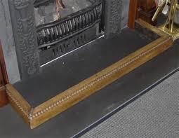 Antique Turn of the century hearth fender in pristine condition.