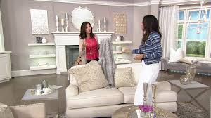 inspire me home decor charlton faux fur s 2 24 pillows on qvc