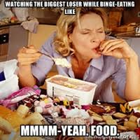 Binge Eating | Meme Generator via Relatably.com
