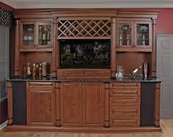 Cherry Bar Cabinet Custom Cabinets Orlando Built In Closet Tv Wall Units
